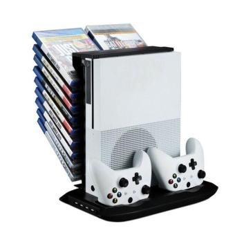 Stand Holder Cooling Fan Charging Station Storage For XBOX ONE S Controllers - intl Price Philippines