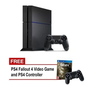 Sony PS4 Unit (Black) NEW with FREE PS4 Fallout 4 Video Game and PS4 Controller Price Philippines