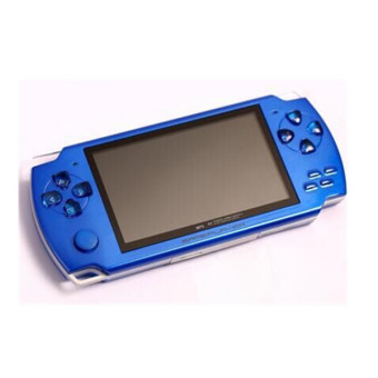 4.3 inch screen handheld game MP4 MP5 Player Games support ebook/TV-out/video1.3 MP Camera (Blue) Price Philippines