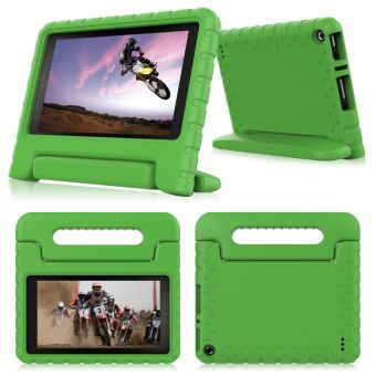 Harga Children Safe EVA Foam Case for Amazon Kindle Fire 7 inch (Green)