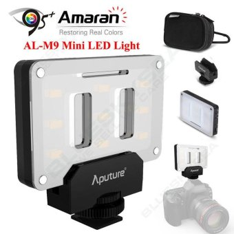 Aputure AL-M9 Amaran Fill Light Mini Video Light LED+9 SMD Bulbs TLCI 95+ Lights - intl Price Philippines