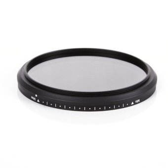Harga Fotga 72mm Slim Fader ND Filter Adjustable Variable Neutral Density ND2 to ND400 for Canon /Nikon 18-200 Canon 18-85 (Intl)