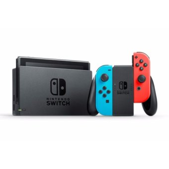 Harga Nintendo Switch with Neon Blue/Neon Red Joy-Con