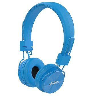 Nia X3 108dB 4 in 1 Bluetooth Wireless Over Ear Headphone (Blue) Price Philippines