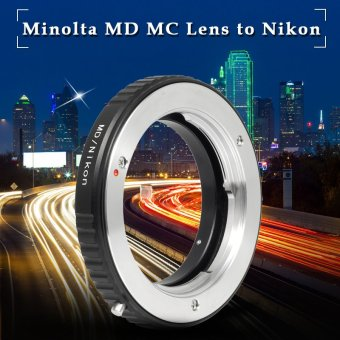 Mount Adapter For Minolta MD MC Lens to Nikon AI F Camera Without Galss Price Philippines