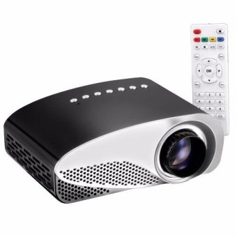 Harga LHR RD-802 Mini 1080p HD LED Portable Projector (Black)