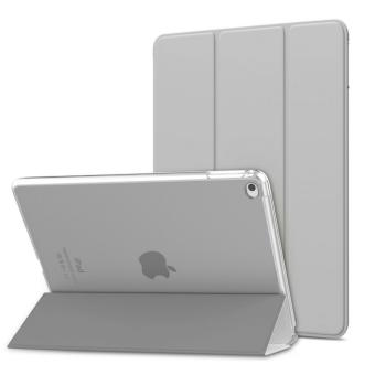 iPad Air 2 Case - Ultra Slim Lightweight Smart-shell Stand Cover with Translucent Frosted Back Protector for Apple iPad Air 2 9.7 Inch Tablet, Space GRAY (with Auto Wake/ Sleep, Not fit iPad Air) - intl Price Philippines