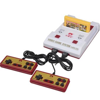 Classic Nostalgic 8 bit Video Games Consoles Player with 2 Joystick + 500 IN 1 Game Card Game Player to TV - intl Price Philippines