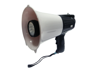 Syber Director Megaphone w/ 4 Functions: Record, Whistle, Alarm, Light (Black) NS-L3LA/BLK Price Philippines