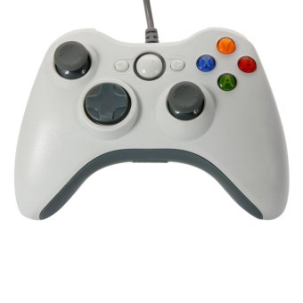 USB Wired Controller for Windows PC Black/White - intl Price Philippines