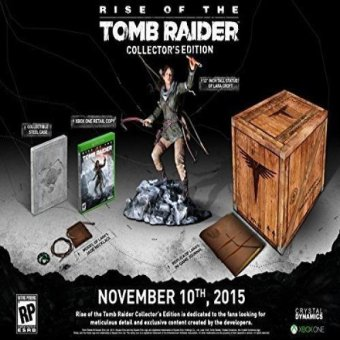 Rise Of The Tomb Raider Collectors Edition Price Philippines