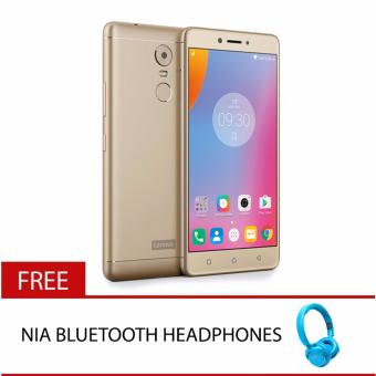 Lenovo K6 Note (Gold) with Free NIA Bluetooth Headphones Price Philippines