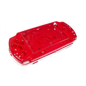Full Housing Shell Faceplate Case Parts Replacement for Sony PSP 2000 Console Red - Intl Price Philippines