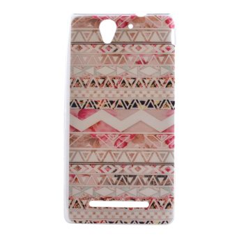 Soft TPU Cover Case for Sony Xperia C3 (Aztec) - Intl Price Philippines