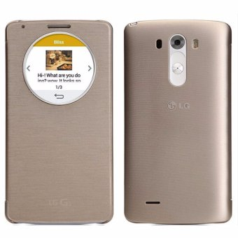 LG QUICK CIRCLE for LG G3 ( Gold ) Price Philippines