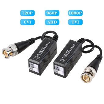 Harga 1 Pair 720P 1080P Video Balun AHD CVI TVI Coax to UTP Cat5 Cat6 Connector for CCTV Camera Tomnet - intl