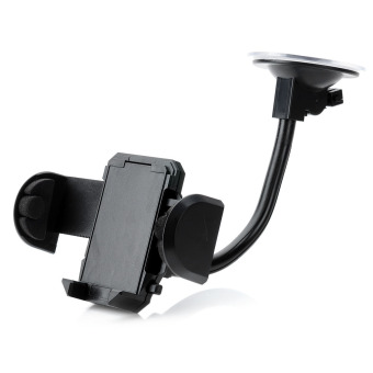 Harga LSON 018 Universal Car Windshield Mount Holder for Mobile Phone (Black)