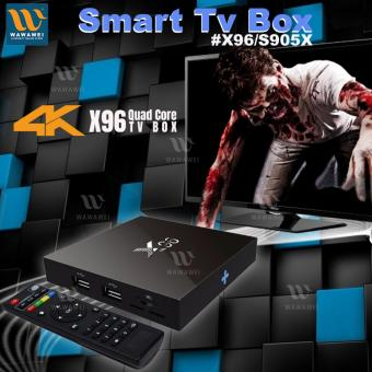 Harga Wawawei X96 Smart TV Box Android 6.0 Quad-Core (Black)