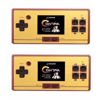 Harga FC-POCKET Classic 8 Bit Game Portable Console Family Computer 600 Games, (Set of 2) (BLACK)