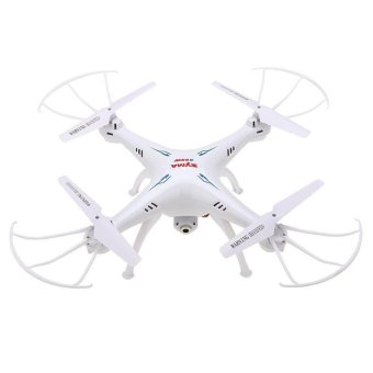 Syma X5C 2.4Ghz 6-Axis Gyro RC Quadcopter Drone with 2MP HD Camera (White) Price Philippines