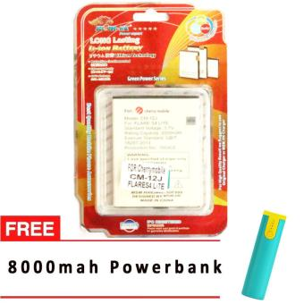MSM HK Battery for Cherry Mobile CM-12J FLARE S4 LITE WITH FREE 8,000 MAH POWERBANK Price Philippines