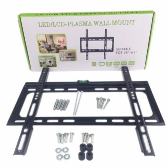 Harga TV Wall Mount Bracket Universal Adjustable Fixed for (26-63 inch) - intl