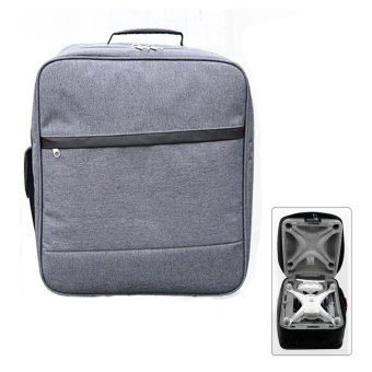 Moonar Outdoor Waterproof Backpack Carrying Case Shoulder Bag for DJI Phantom 4 - intl Price Philippines