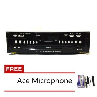 Ace MIDI-4500 Karaoke DVD Player with Games and Radio with FREE Ace-504 Microphone Price Philippines