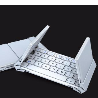 B.O.W Mini Bluetooth Keyboard Foldable(Folding)Aluminium case for iOS, Android, Windows, PC,Tablets and Smartphone Price Philippines