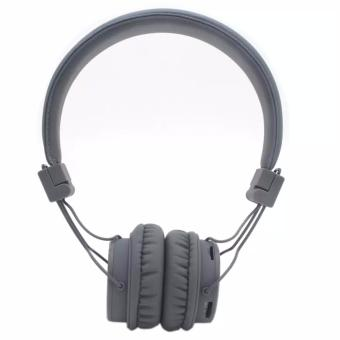 NIA-X3 108dB 4 in 1 Collapsible Wireless Bluetooth Over the Ear Headphone (Gray) Price Philippines