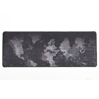 Large Size 900 x 400mm World Map Speed Game Mouse Pad Mat Laptop Gaming Mousepad - intl Price Philippines