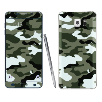 Harga Samsung Galaxy Note 5 Camouflage Skin by Oddstickers