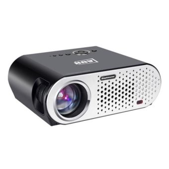 Harga AUN T90 Basic Version Mini Projector 3200 Lumens LED 1280x768 Multimedia Video Projector Home Theater(Black) - intl