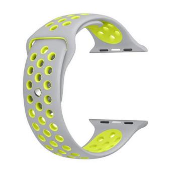 42mm Soft Silicone Replacement Wrist Strap for Apple Watch Nike+, Series 2, Series 1, Sport, Edition - intl Price Philippines