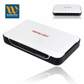 MERCURY S108M 8 Port Mini Fast Ethernet Switch 10/100Mbps Network RJ45 Ethernet Switch Adapter Price Philippines