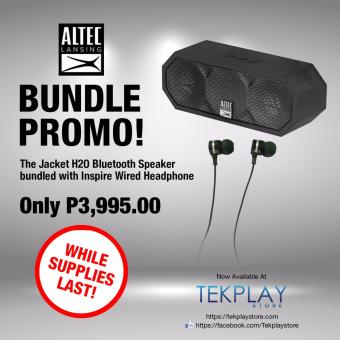 Altec Lansing The Jacket H2O Bundled with Altec Lansing Inspire Earphone Price Philippines
