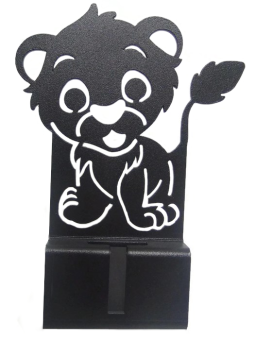 Harga Lufata Cellphone Stand CP Stand Lion (Black)