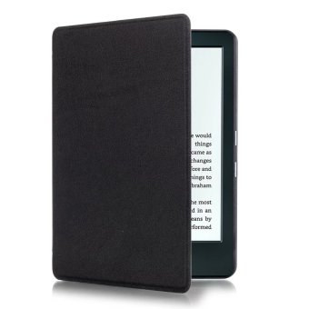 Harga Yika Thin PU Leather Cover for Amazon Kindle 8th 2016 (Black)