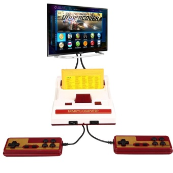Harga Family Computer FC 30 Aniversario Famicom For Nintendo W/ 100 Games Game Card - intl