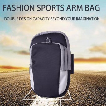 Sports Armband Phone Bag Case Fitness Jogging Running Arm Band Bag Pouch - intl Price Philippines