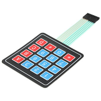 4 x 4 Matrix Array 16 Key Membrane Switch Keypad Price Philippines