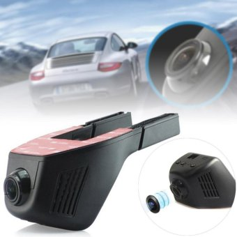 Harga 1920*1080 Wifi Hidden car DVR camera Car Dash Camera Video Recorder Dash Cam - intl