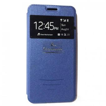 Harga LC S View Flip Cover Leather Case for Asus Zenfone 5 (Blue)