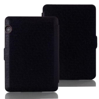 Harga Smart Ultra Slim Magnetic Case Cover For Amazon Kindle Voyage 2014 Black - intl