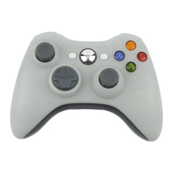 Seeeshed White Color 2.4G Wireless Gamepad Joypad Game Remote Controller Joystick With Pc Reciever For Microsoft For Xbox 360 Console Price Philippines