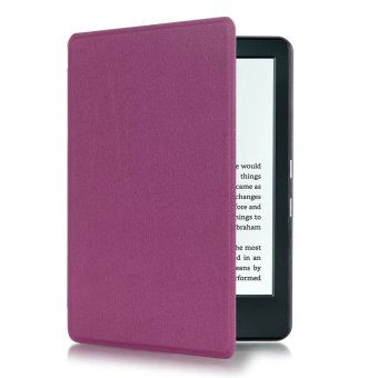 Harga Yika Thin PU Leather Cover for Amazon Kindle 8th 2016 (Purple)