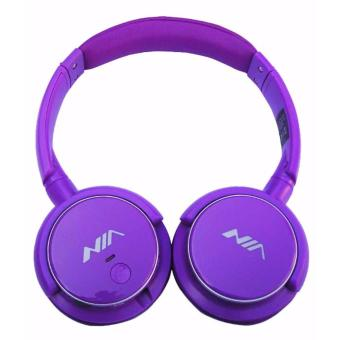 NIA Q1 On Ear Wireless Bluetooth Headset (Violet) Price Philippines