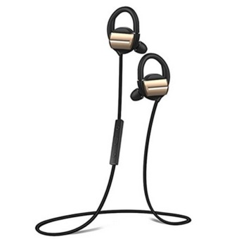 H3 Bluetooth Headphones V4.1 Wireless Sports Earpiece Stereo In-Ear Sweatproof Headset for iPhone 6s Plus Android Phones(BlackGold) - intl Price Philippines