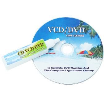 CD DVD VCD Player Lens Cleaner Dirt Dust Remover Restore with Cleaning Fluid - Intl Price Philippines