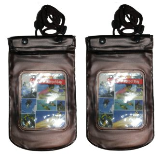 Waterproof Gadget Pouch Set of 2 (Black) Price Philippines